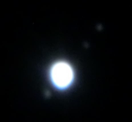 Jupiter with Io, Europa and Ganymede