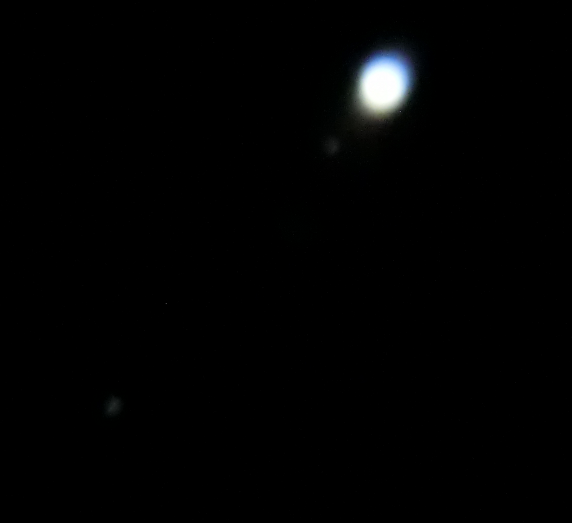 Jupiter with Io and Callisto